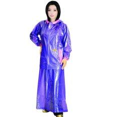 Harga Jas Hujan Jaket Rok Puspa Ungu Dan Spesifikasinya