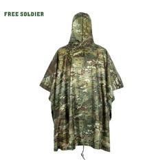 Jas Hujan Motif Tentara - Camouflage