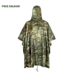 Jas Hujan Motor Outdoor Motif Tentara Army Waterproof Rain Coat