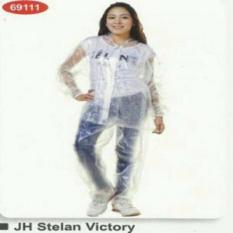 Ulasan Lengkap Tentang Jas Hujan Raincity Stelan Transparan Victory 69111 Transparant