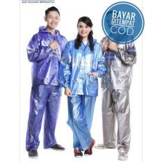 Tips Beli Jas Hujan Setelan Jaket Celana Rain Coat Cocok Untuk Pria Dan Wanita