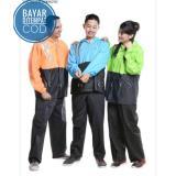 Harga Jas Hujan Setelan Jaket Celana Rain Coat Cocok Untuk Pria Dan Wanita Branded