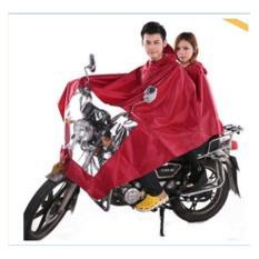 Jas Hujan Sunflower Rain Coat Twin Double Untuk Dua Orang Sekaligus Motor