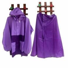 Spesifikasi Jas Hujan Wanita Jaket Rok Salsa Ungu Murah