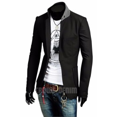 Beli Barang Jas Premium Blazer Black Casual Trend Fashion Korean Sk 65 Hitam Online