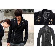 Jas Premium - Jaket City Hunter Lee Min Ho Style - Hitam