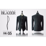 Obral Jas Premium Stylist Blazer Black Casual Trend Fashion Korean Sk 35 Hitam Murah