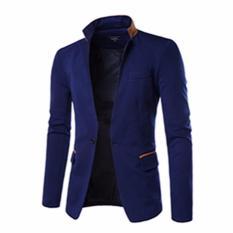 Jas Pria Biru Navy SlimFit - Blazer Anak Muda Keren - Kode : JP4888c