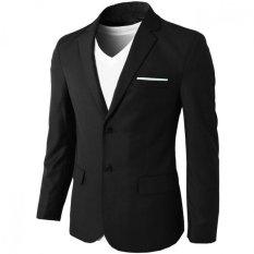 Review Pada Jas Pria Blazer Pria Formal New Style Hitam
