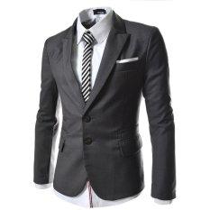 Harga Jas Pria Blazer Pria Grey Style Men Abu Abu Terbaru