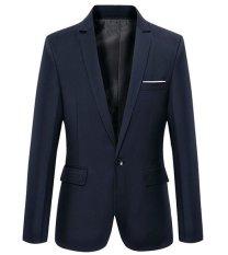 Toko Jas Pria Casual Style Navy Blue Terlengkap