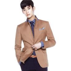 Cuci Gudang Jas Pria Exclusive Kim Soo Hyun Jas Pria Casual Jas Formal Korean Style Jas Pria New Arrival Jas Pria Best Quality Chocolate