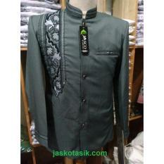 Spesifikasi Jasko Jas Koko Sorban Batik Abu Abu Online