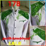 Beli Jasko Putih Bordir Kombinasi Hijau No 178 Sakina Collection Asli