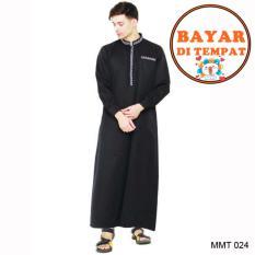 Java Gamis Pria Keren Dan Modis MMT 024 - Hitam