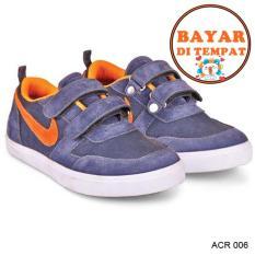 Java Sepatu Anak Laki Aucu Dan Modis Model Terbaru ACR 006 - Biru