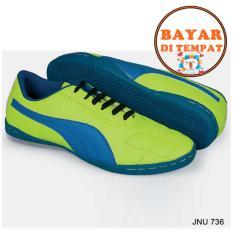 Java Sepatu Futsal Keren Dengan Jahitan Sole Yang Kuat JNU 736 - Hijau