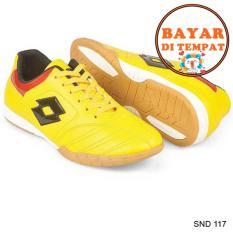 Java Sepatu Futsal Keren Dengan Jahitan Sole Yang Kuat SND 117 - Kuning