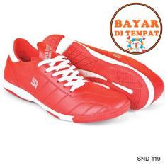 Java Sepatu Futsal Keren Dengan Jahitan Sole Yang Kuat SND 119 - Merah