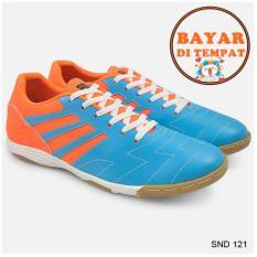 Java Sepatu Futsal Keren Dengan Jahitan Sole Yang Kuat SND 121 - Biru