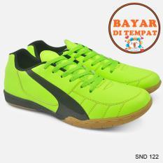 Java Sepatu Futsal Keren Dengan Jahitan Sole Yang Kuat SND 122 - Hijau