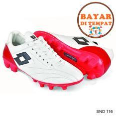 Java Sepatu Sepak Bola Keren Dengan Japutan Sole Yang Kuat SND 116 - Putih