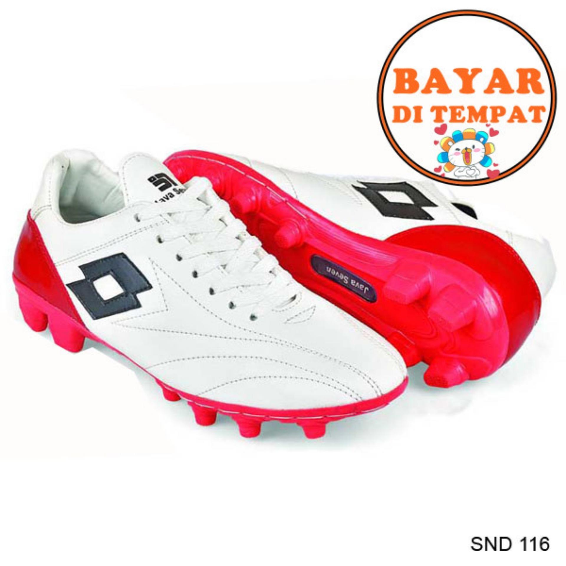 Java Sepatu Sepak Bola Keren Dengan Japutan Sole Yang Kuat SND 116 - Putih 3f1755ef6c