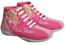Java Seven BRI 106 Sepatu Sneaker Anak Perempuan Canvas Bagus (Pink)