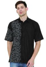 Java Seven JSR 036 Kemeja Muslim pria - cotton - bagus & elegan (NAVY)