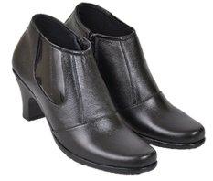 Harga Java Seven Jup 102 Sepatu Formal Kerja Wanita Kulit Asli Bagus Hitam Termurah