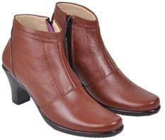 Harga Java Seven Jup 103 Sepatu Formal Kerja Wanita Kulit Asli Bagus Marun Baru Murah