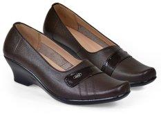 Harga Java Seven Jup 112 Sepatu Formal Kerja Wanita Kulit Asli Bagus Coklat Asli Java Seven