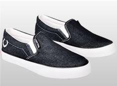 Toko Java Seven Lst 101 Sepatu Casual Sneaker Pria Denim Menarik Hitam Lengkap Di Jawa Barat