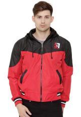 Beli Java Seven Skr 001 Jaket Sweater Pria Bahan Taslan Bagus Dan Simple Red Cicilan