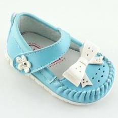 Javana Sepatu Anak Bayi Perempuan Pita Cantik JVNPITA - Biru