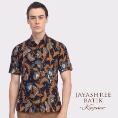 Harga Jayashree Batik Kemeja Slimfit Kayana Black Shortsleeve Pria Jayashree Batik Terbaik