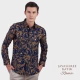 Spesifikasi Jayashree Batik Kemeja Slimfit Rama Bg Longsleeve Pria
