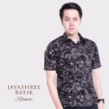 Beli Jayashree Batik Kemeja Slimfit Rama Short Sleeve Pria Kredit Dki Jakarta