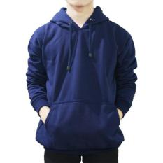 Harga Jayasinar Jaket Zipper Korean Hoodie Oblong Navy