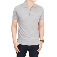Harga Jayasinar Kaos Polos Polo Shirt Abu Lengkap