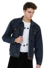 Jb Boss Jacket Jeans Jjb233 3 1 89 Jacket Jeans Cotton Denim Light Blue Black Asli