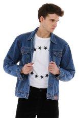JB Boss Jacket Jeans -JJB233-3.1 - B.28 Jacket Jeans Cotton Denim - Bio Medium - Biru