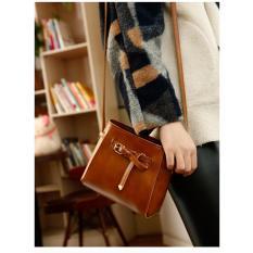 Review Toko Jcf Fashion Women Pu Leather Sling Bag Shoulder Bag Handbag Messenger Hobo Bag Satchel Purse Tote Khahi Online
