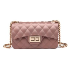 Beli Jcf Tas Fashion Anak Remaja Dan Dewasa Chevron Dove Matte Mewah Cantik Jelly Sling Teenager And *d*lt Mini Candy Bag Import Rose Gold Yang Bagus