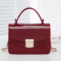 Jual Jcf Tas Fashion Remaja Dan Dewasa Chiara Jelly Sling Import Teenager And *D*Lt Mini Candy Bag Red Maroon Jcf Branded