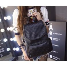 Jual Jcf Tas Ransel Kulit Pu Import Korean Style Fashion Branded Wanita Remaja Dan Dewasa Size Large Rebecca Black Bagus Jcf Asli