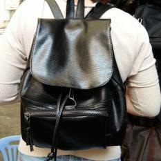 Diskon Jcf Tas Ransel Kulit Fashion Branded Wanita Remaja Dan Dewasa Import Audie Black Bagus Jcf Indonesia