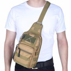 Harga Jcf Tas Selempang Import Cowok Pria Army Tactical Sling Waist Messenger Shoulder Bag Backpack Khaki Merk Jcf
