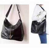 Review Terbaik Jcf Tas Tote Bag Gracious Import Korean Style Bagus Shoulder Bag Fashion Branded Wanita Remaja Dan Dewasa Black