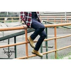 Jeans Dry Denim Blue Black / Celana Chino / Jogger - 6Ee5c3